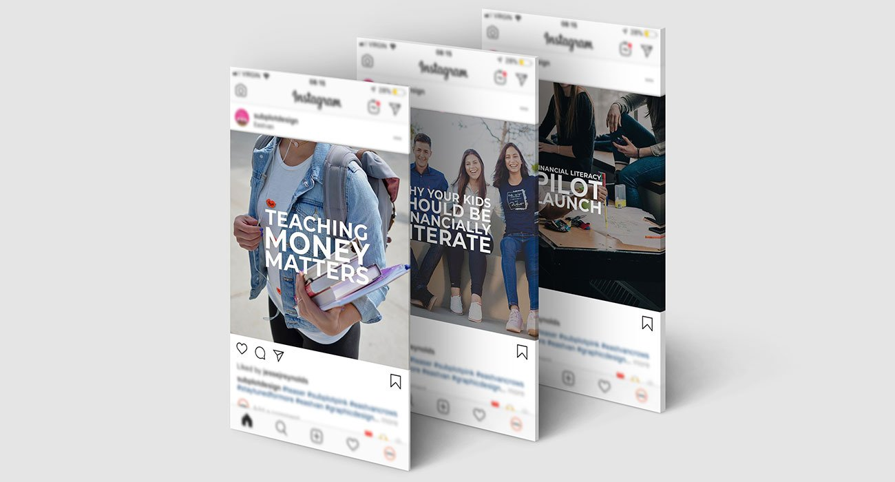 empower a youth social template design