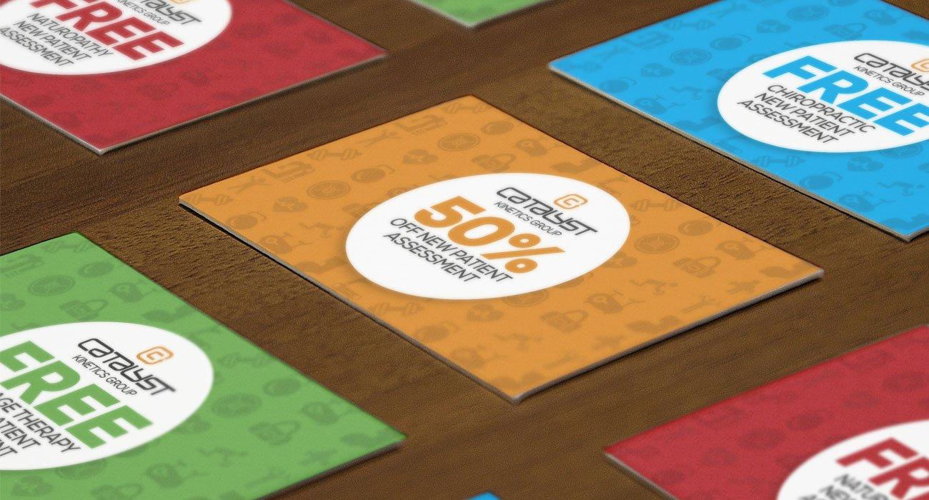 catalyst kinetics business card design